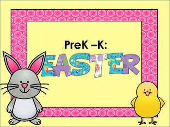 PreK - K: Easter Unit