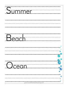PreK-K Summer Learning Collection