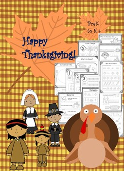 PreK-K+ Thanksgiving Package