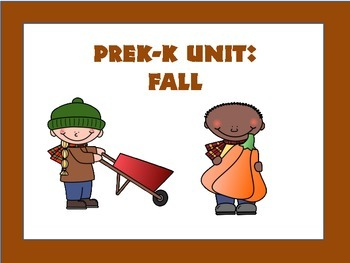 PreK-K Unit: Fall
