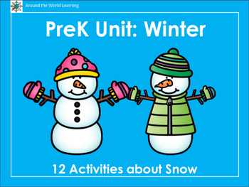 PreK/K Unit: Winter