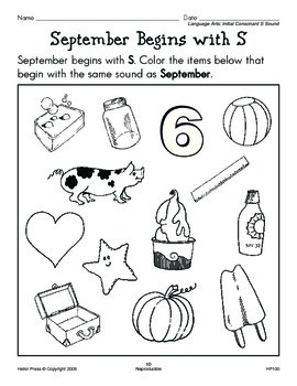 PreK-K We Love Holidays! September Monthly Unit