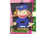 PreK Kinder Child Self Portrait Graduation Craft