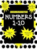 PreK/Kinder/ELL/ESL:  Numbers: 1 - 10 Fun! Interactive! & Creative!