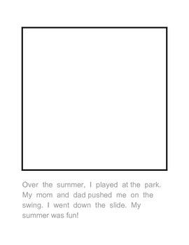 PreK Kinder Sentences Reading Writing