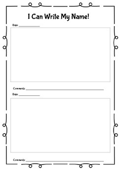 PreK/Kindergarten Assessment Packet