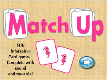PreK Kindergarten Math - Sorting and Matching Interactive Powerpoint Game