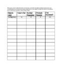 PreK-Kindergarten Skills Data Collection Forms
