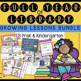 PreK - Kindergarten Year of Library Lessons *GROWING BUNDLE