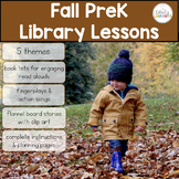 PreK Library Lessons   Fall