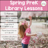 PreK Library Lessons Spring