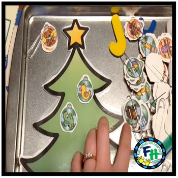 PreK Literacy & Math Activity Pack (Christmas)