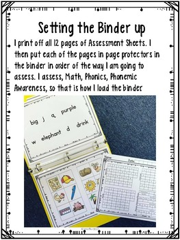 PreK MATH Assessment