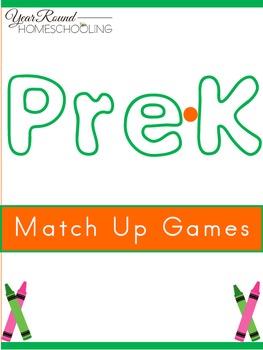 PreK Match Up Games