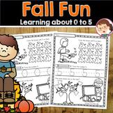 Fall PreK Maths Activities