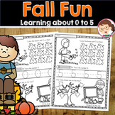 Fall PreK Maths Activities