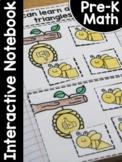 PreK Math Interactive Notebook