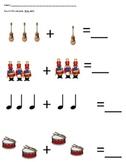 PreK Math Worksheet Packet