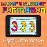 DIGITAL Letter & Number Formation