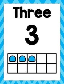 PreK Number Activities