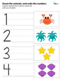 PreK Ocean Mini Pack
