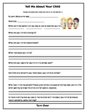 PreK Parent Questionnaire