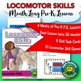 PreK Physical Education Locomotor Skills Unit