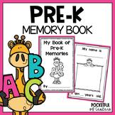 Pre-K & Preschool Memory Book