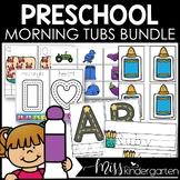 PreK / Preschool Morning Work Tubs Fine Motor Activities F