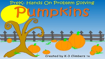 PreK Pumpkins Problem Solving