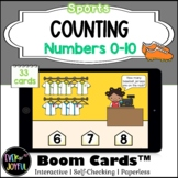 PreK Sports Math Boom Cards™ |  Counting Boom Cards™: Base
