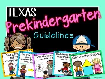 PreK Texas Guideline Posters