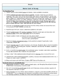 Pre K Water Unit of Study Planning Guide