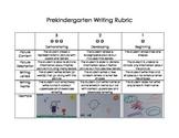Pre-Kindergarten (PreK) Writing Rubric (PreKindergarten/Preschool)