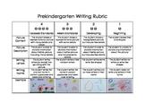 Pre-Kindergarten (Pre-K) Writing Rubric (PreKindergarten / Preschool)