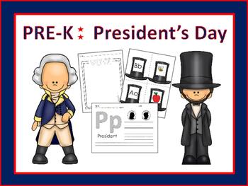 PreK and K Unit: President's Day