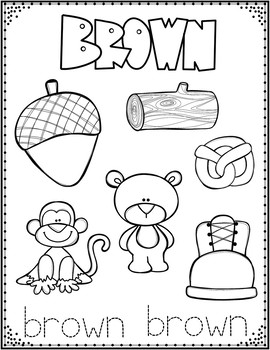 PreK and Kinder Coloring Sheets BUNDLE:  Alphabet, Colors, Shapes, and Numbers