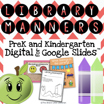 PreK and Kinder Library Manners
