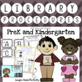 PreK and Kindergarten Library Procedures