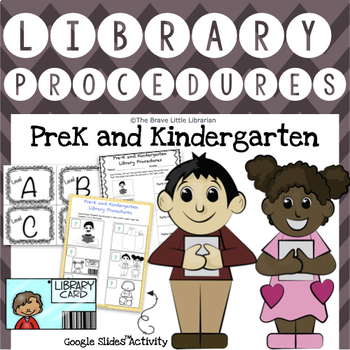 PreK and Kinder Library Procedures