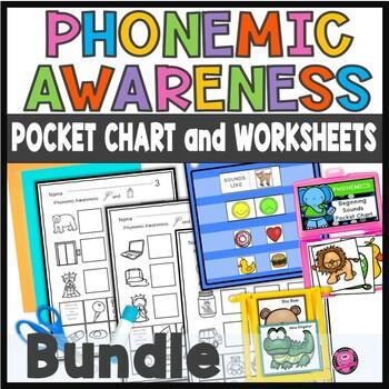 PreK and Kindergarten Phonemic Awareness Pocket Chart Activities