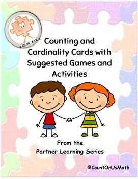 PreK and Kindergarten Cardinality Cards