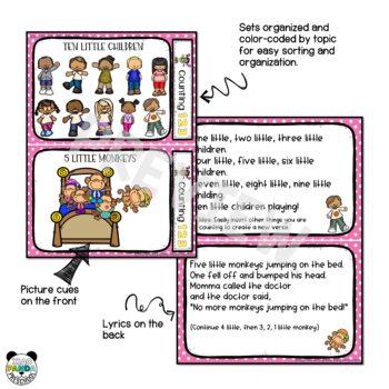 PreK and Kindergarten Circle Time Songs - Counting Songs