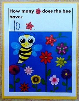 PreK and Kindergarten Counting Worksheets 1-10