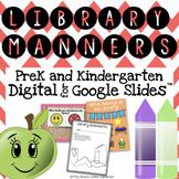 PreK and Kindergarten Library Manners