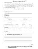 PreK and Kindergarten Parent Survey