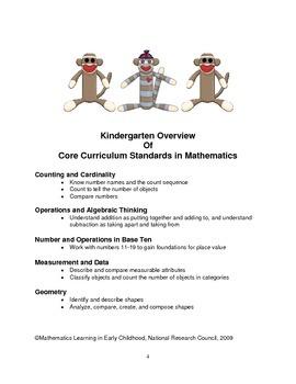 PreK and Kindergarten Strategies to Teach Common Core Math