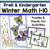 Representations for Numbers 1-10   Winter Math for PreK and Kindergarten