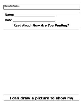 PreK lessonplans worksheets Self Portrait/ Family/Feelings/CountingName Writing