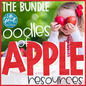 Apple Unit Bundle - PreK/Kindergarten/Pre-K Fall Printables and Activites